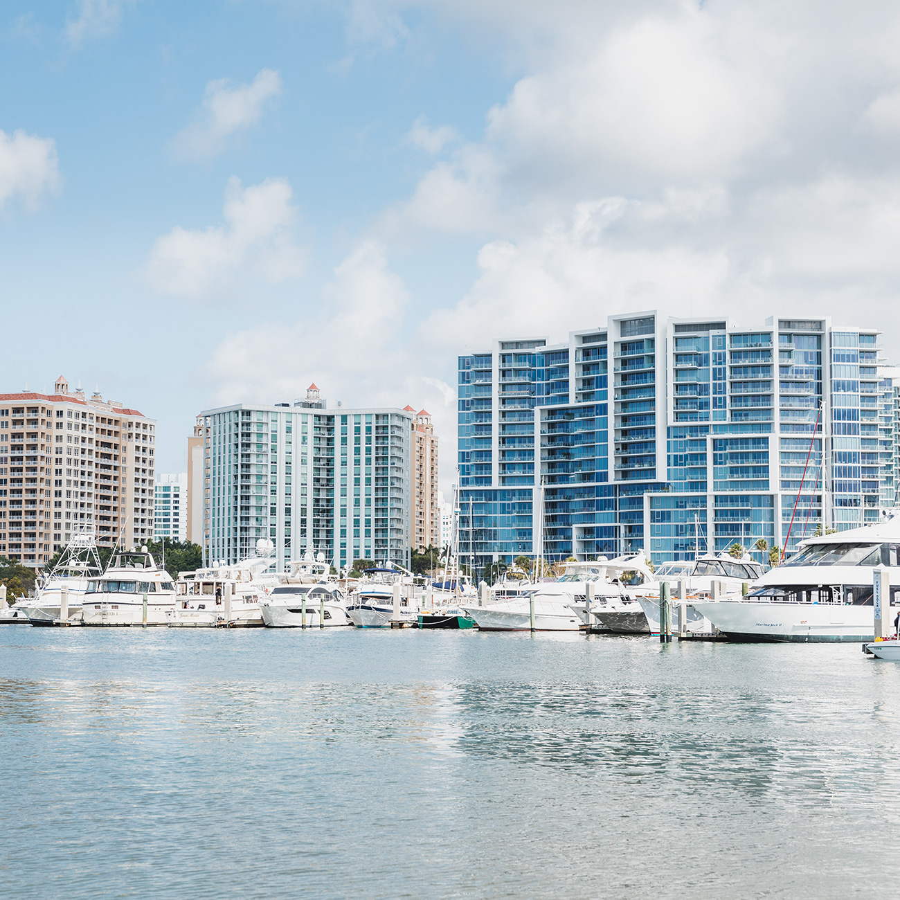 Over the past 10 years, Sarasota's bay front has seen significant growth to accommodate a rise in both tourism and year-round residents.
