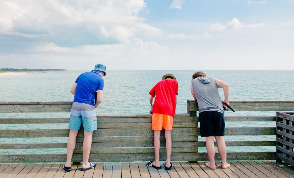 Venice Pier Fishing - Venice Florida