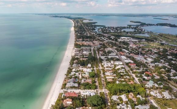 Aerial view Boca Grande