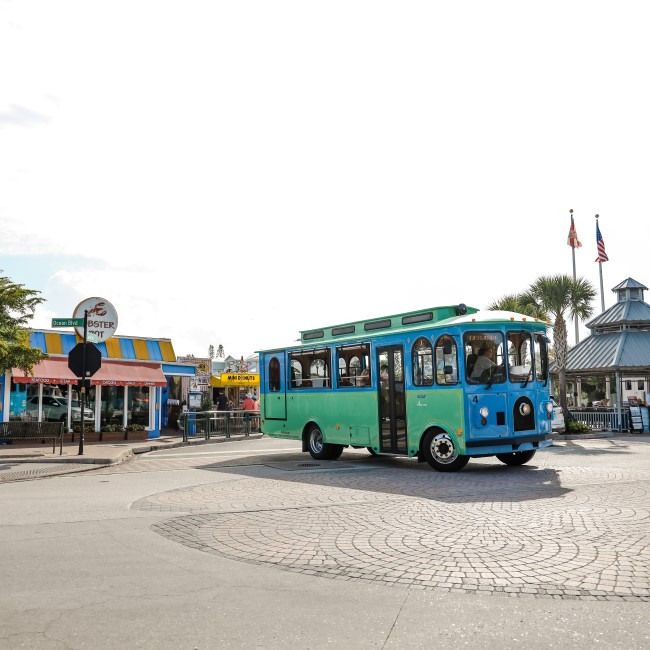 trolley in southwest florida