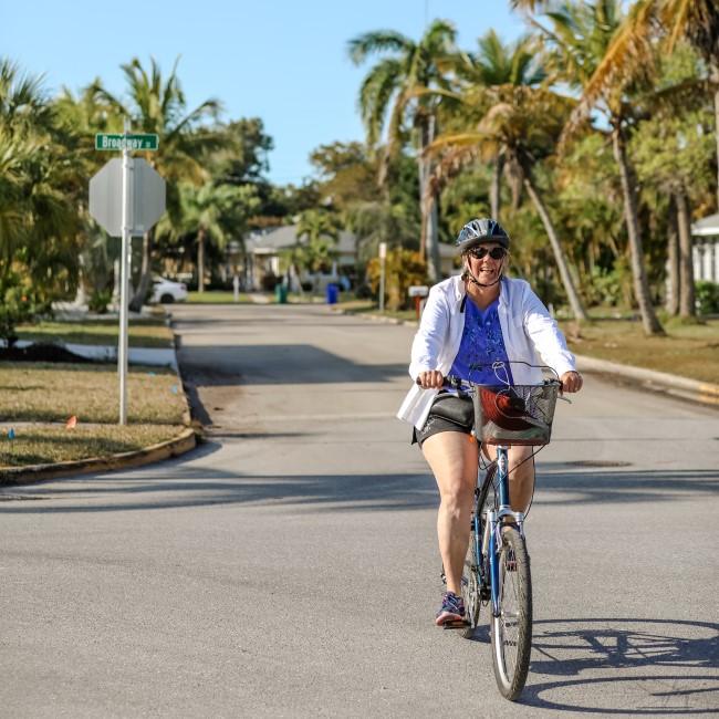 Biking in Sarasota Florida